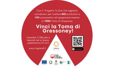 Compila il questionario del progetto To.Gre.Val e vinci la Toma di Gressoney!