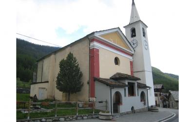 Chiesa di Santa Maria Maddalena nel comune di La Magdeleine
