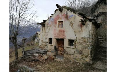 Cappella di Cevetta nel comune di Fontainemore