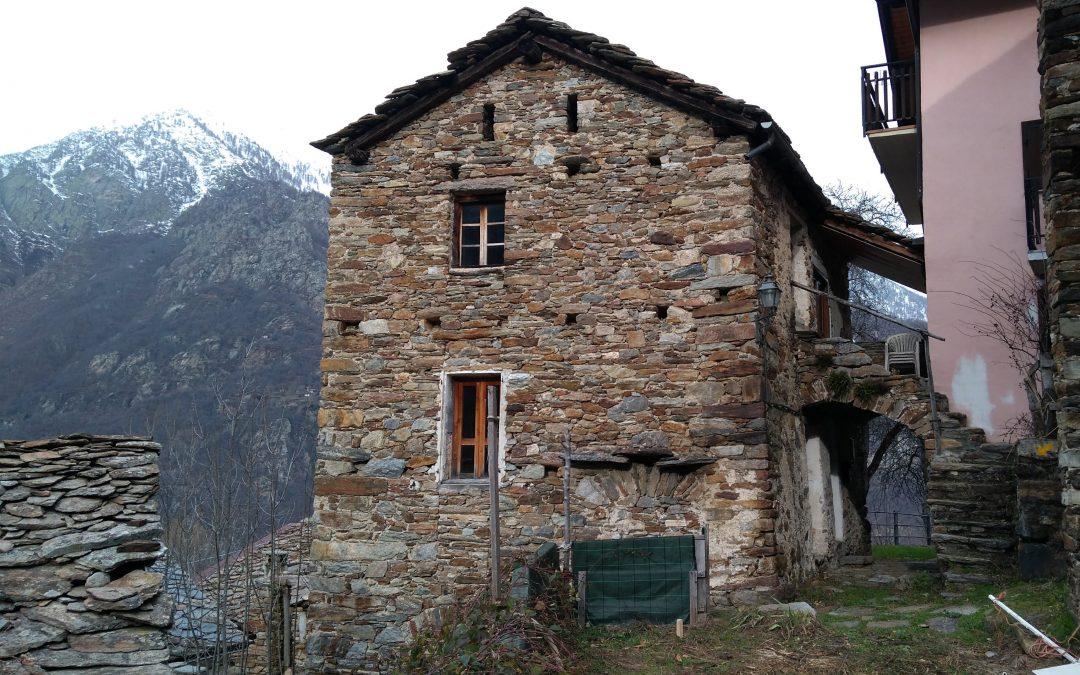 La scuola rurale nel comune di Lillianes
