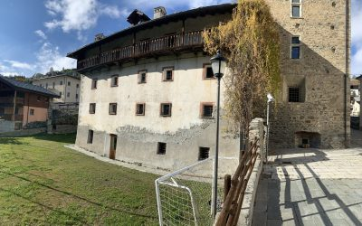 La casa canonica della Parrocchia di Saint-Rhémy-en-Bosses
