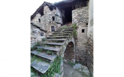 Il torchio nel comune di Perloz