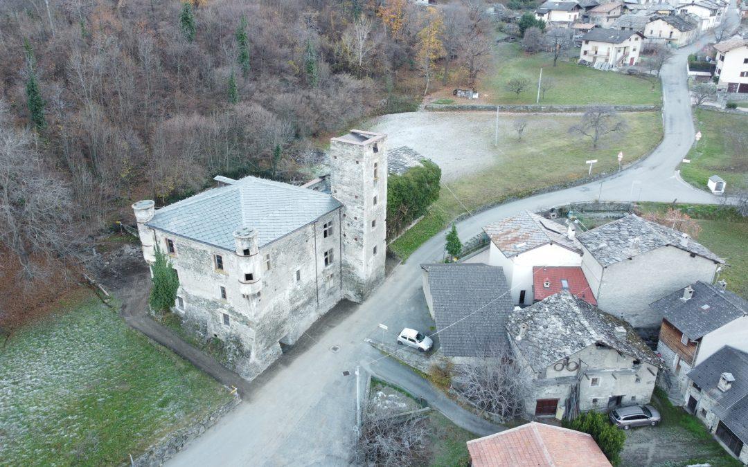 Riqualificazione dell'area del Castello di Saint Marcel