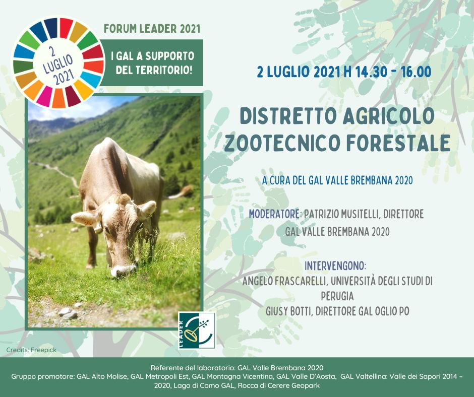 2 Luglio – Distretto Agricolo Zootecnico Forestale