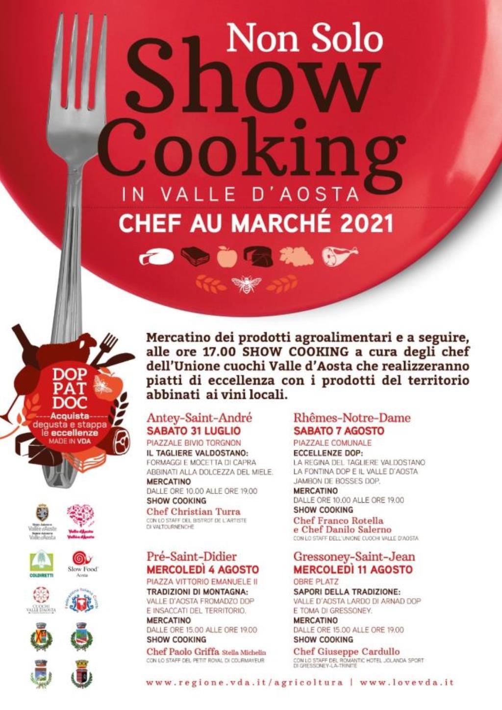 Locandina Non solo Show Cooking 2021