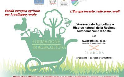 Workshop su adempimenti burocratici e amministrativi per le aziende agricole